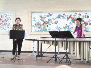 <p>佐賀県庁県民ホールにサックス&マリンバの演奏を聴きに行きました。<br /> 「ディズニー メリ…</p>