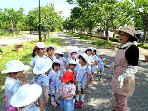 <p> 県立博物館東側の花時計周辺で、恒例の花壇づくり大作戦に、佐賀県立佐賀城公園管理事務所の方からお声掛…</p>